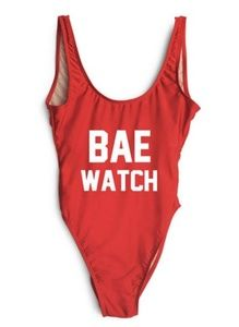 Other - New! Bae Watch one piece swim suit large